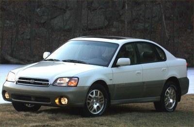 2002 Subaru Outback H6-3.0 Sedan