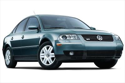 2002 Volkswagen Passat W8 Sedan
