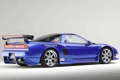 2003 Acura NSX SEMA show car
