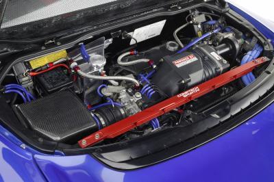 2003 Acura NSX SEMA show car engine