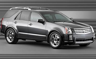 2003 Cadillac SRX Black Diamond concept