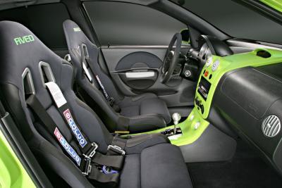 2003 Chevrolet Aveo XTREME interior