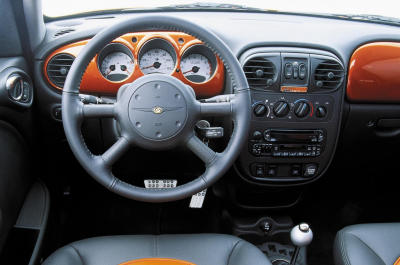 2003 Chrysler PT Cruiser Street Edition Series 2 instrumentation