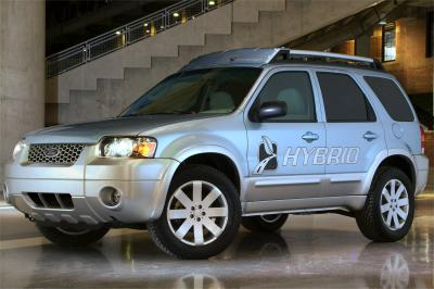 2003 Ford Escape Hybrid production concept