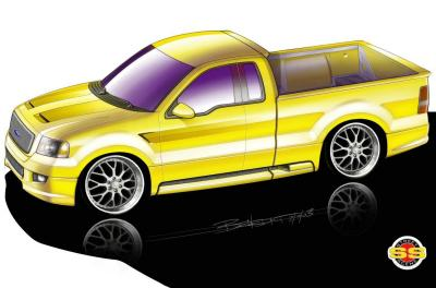 2003 Ford SEMA F150 - American Muscle by Street Scene