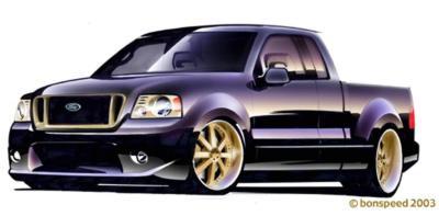 2003 Ford SEMA F150 - bonspeed Banshee F-150