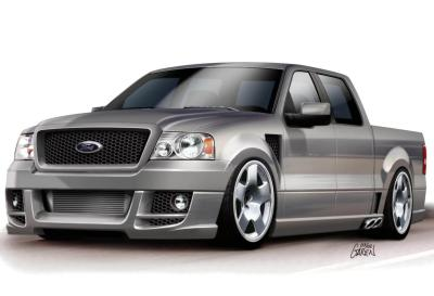 2003 Ford SEMA F150 - Fast and Ferocious by Wings West