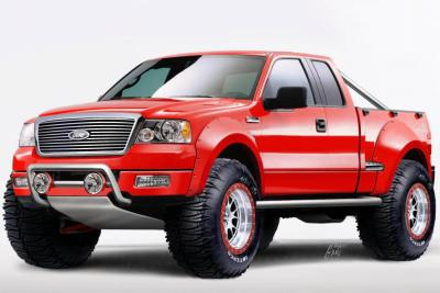 2003 Ford SEMA F150 - SCOUT by BFS Mobility