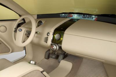 2003 Ford Faction concept interior