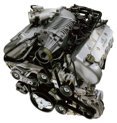 2003 Ford SVT Mustang Cobra engine