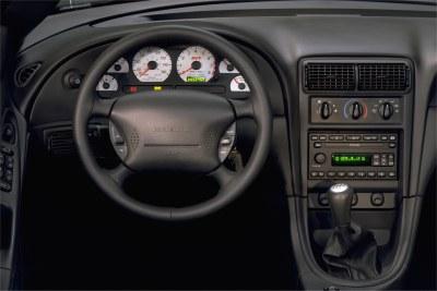 2003 Ford SVT Mustang Cobra instrumentation