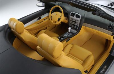 2003 Ford Supercharged Thunderbird concept interior