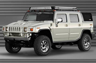 2003 Hummer H2 SUT Dirt Sports concept
