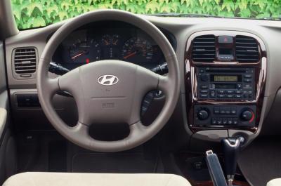 2003 Hyundai Sonata interior