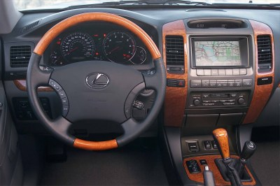 2003 Lexus GX470 instrumentation