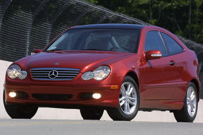 2003 Mercedes-Benz C-Class Sports Coupe