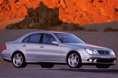 2003 Mercedes-Benz E55 AMG