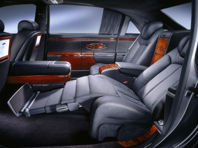 2003 Maybach interior