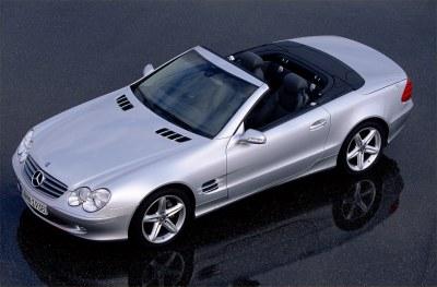 2003 Mercedes-Benz SL Class
