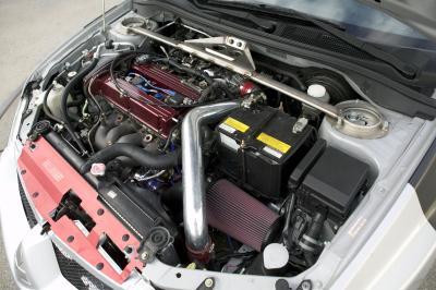 2003 Mitsubishi Lancer Evolution custom car by Toda Racing