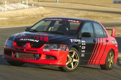 2003 Mitsubishi Lancer Evolution Yokohama Advan show