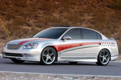 2003 Nissan Altima custom car by Fesler