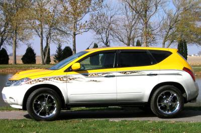 2003 Nissan Murano custom car by Custom Shoppe