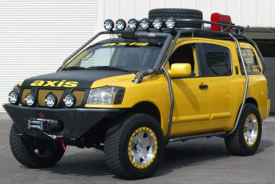 2003 Nissan Pathfinder Armada custom car by Axis Sport Tuning