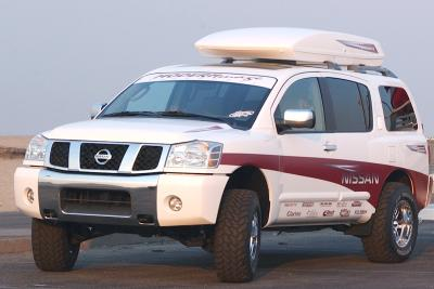 2003 Nissan Pathfinder Armada custom car by Modern Image