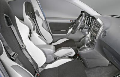 2003 Pontiac Vibe - Autocross show car interior