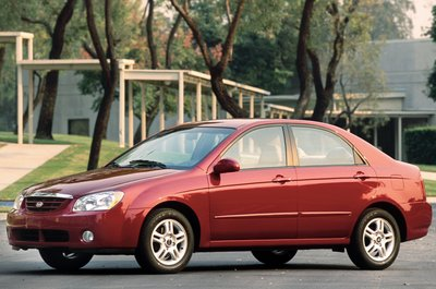 2004 Kia New Spectra 4-door