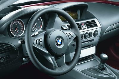 2004 BMW 645Ci instrumentation