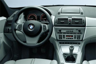 2004 BMW X3 instrumentation