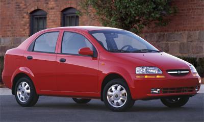 2004 Chevrolet Aveo Sedan