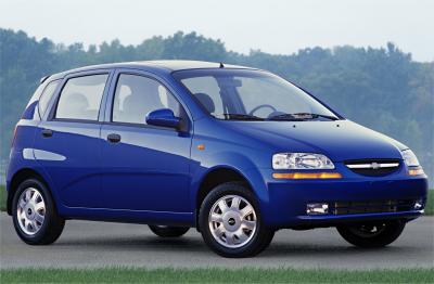 2004 Chevrolet Aveo Wagon