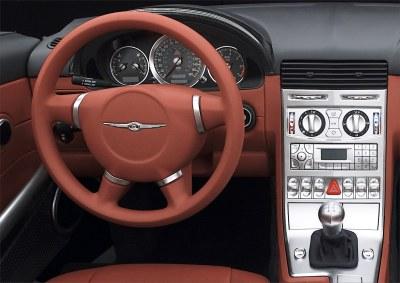 2004 Chrysler Crossfire instrumentation