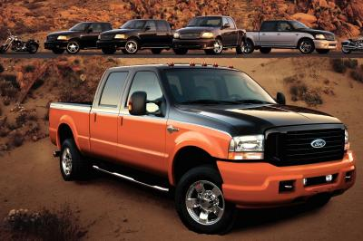 2004 Ford F-Series Super Duty information