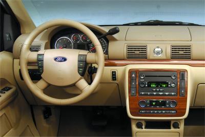 2004 Ford Freestar instrumentation