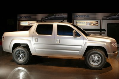 2004 Honda Ridgeline information