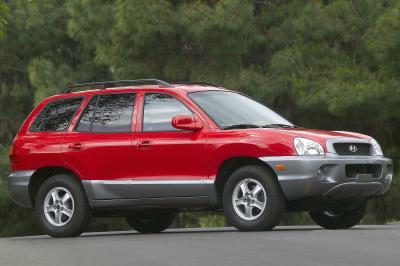 2004 Hyundai Sante Fe