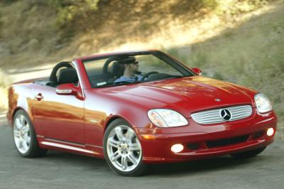 2004 Mercedes-Benz SLK special edition