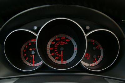 2004 Mazda Mazda3 Instrumentation