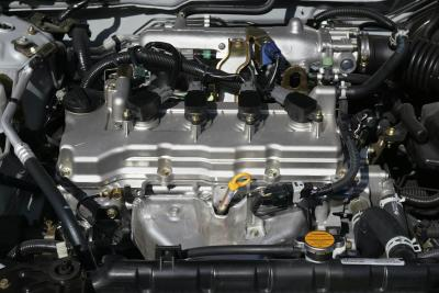 2004 Nissan Sentra engine