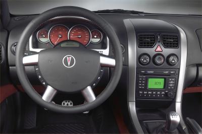 2004 Pontiac GTO instrumentation