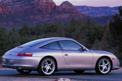 2004 Porsche 911 Targa coupe