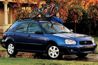 2004 Subaru Impreza 2.5TS wagon