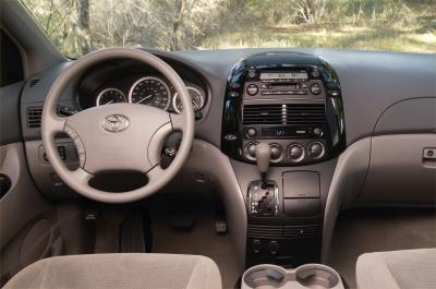 2004 Toyota Sienna LE interior