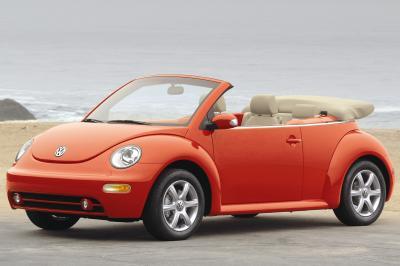 2004 Volkswagen Beetle Cabriolet