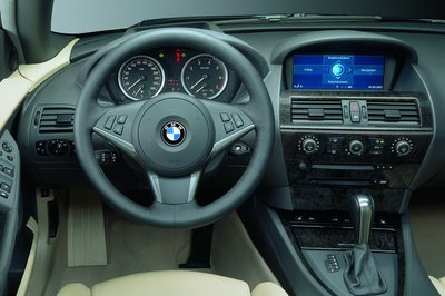 2005 BMW 6-series convertible Instrumentation