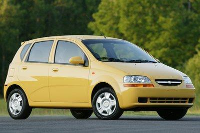 2005 Chevrolet Aveo Wagon
